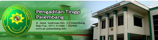Pengadilan Tinggi Palembang