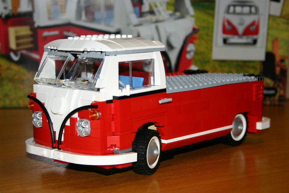 lego 10220 volkswagen t1 transporter flatbed the car hobby. Black Bedroom Furniture Sets. Home Design Ideas