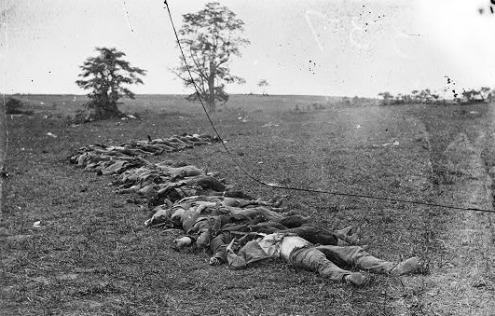 Casualties of Battle - Antietam National Battlefield (U.S ...