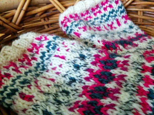 Ohje -norjalaiset sukat