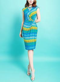 Past Season Clearance Sales Side Twist OL Dress