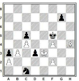 Problema ejercicio de ajedrez número 704: Kveinis - Eingorn (URSS, 1983)