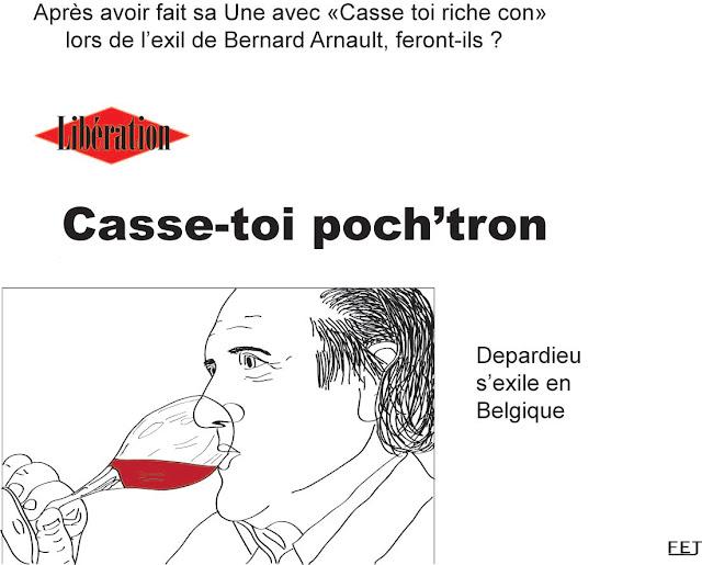 Casse-toi poch'tron: depardieu s'exile