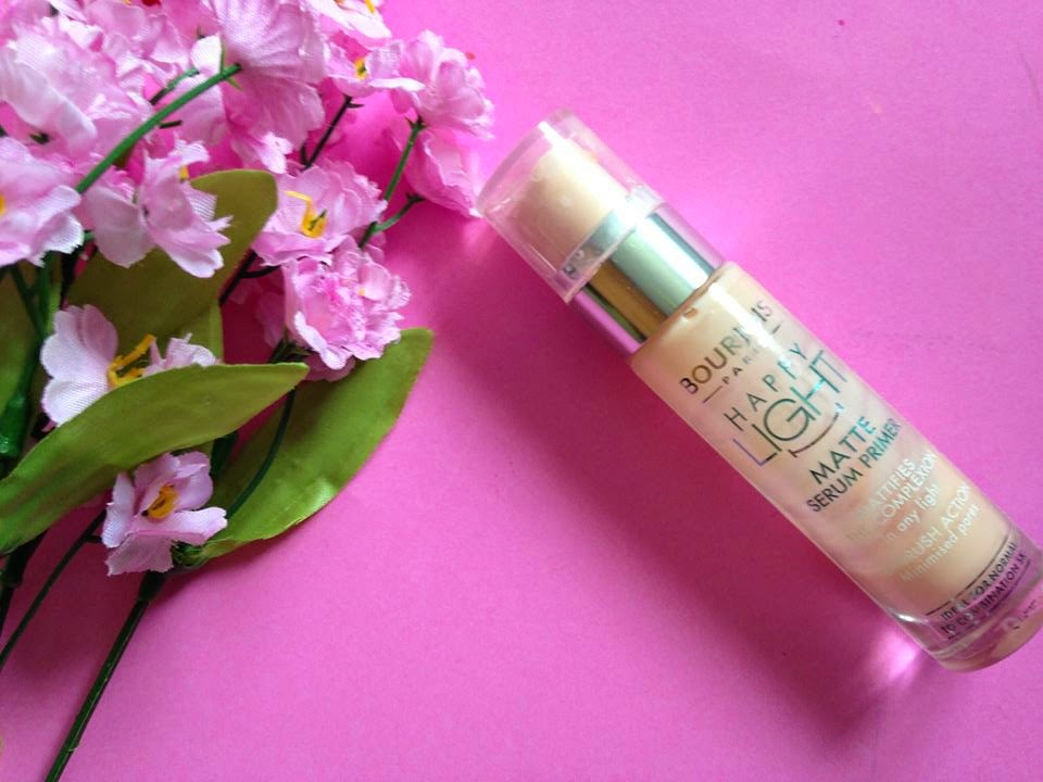 Bourjois Paris Happy Light Matte Serum Primer Review
