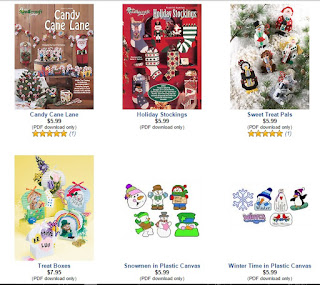 Download plastic canvas holiday patterns