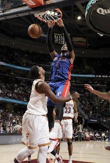 Drummond, Monroe, Pistons, cavs, NBA