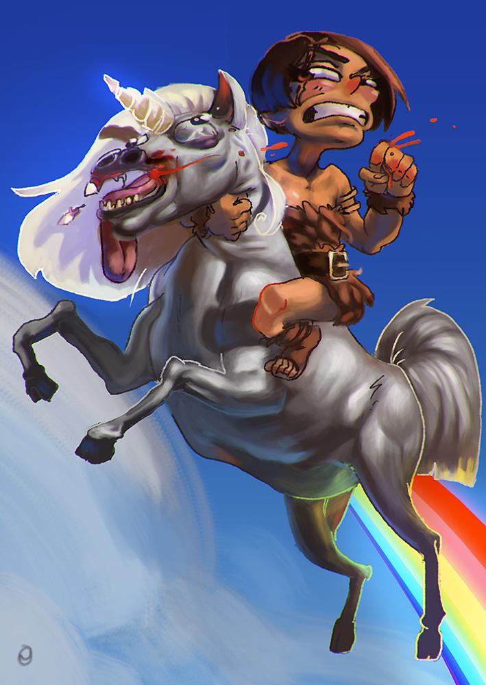 Léa passion dessin Unicorn