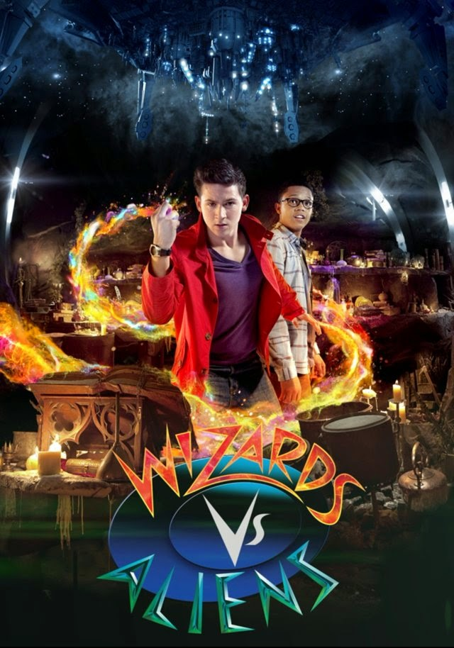 Wizards vs. Aliens – Todas as Temporadas Dublado / Legendado (2012)