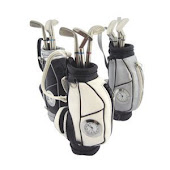 CENTRUM LINK - GOLF BAG PEN HOLDER WITH CLOCK - Code 1713