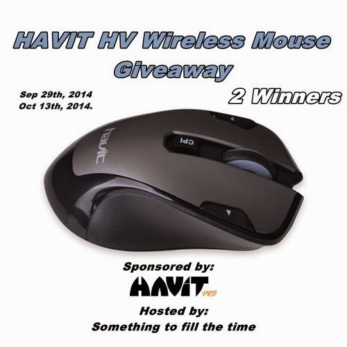 Enter the HAVIT HV Wireless Mouse #Giveaway. Ends 10/13.