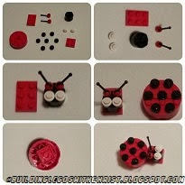 Instructions to Build a LEGO Ladybug for Valentine's Day