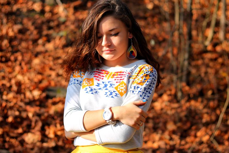 bluza azteckie wzory