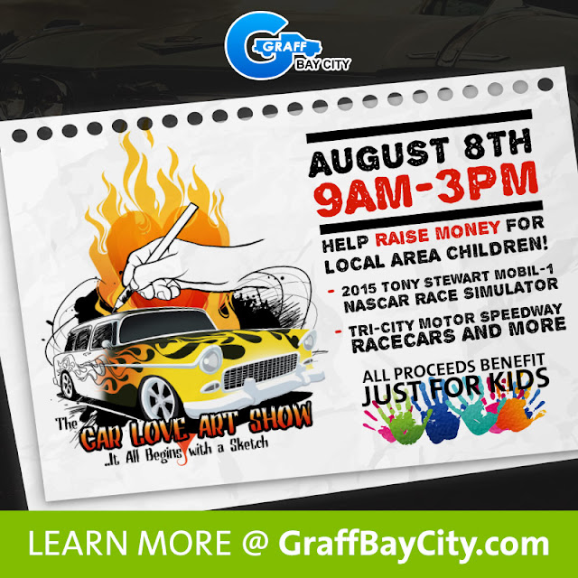 Join Us For The Car Love Art Show With All Proceeds Going To Just For Kids