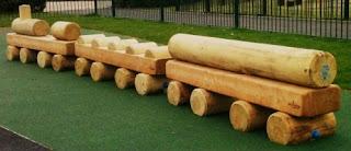 Slade Gardens playground in Vassall Ward, SW9
