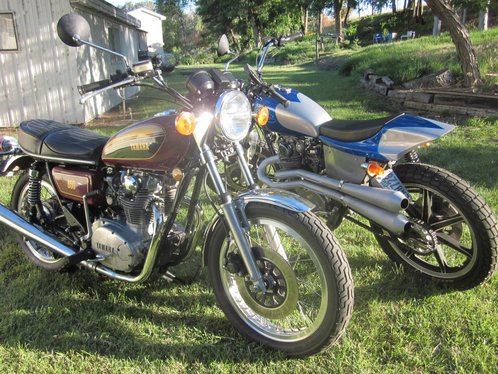 OldMotoDude  My 1977 and 1980 Yamaha XS650s