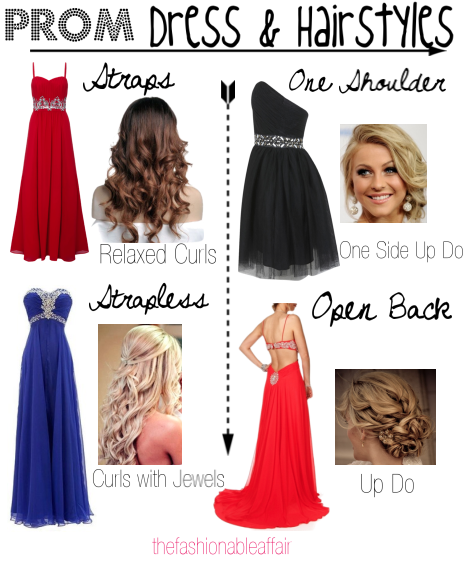 Best Hairstyle For Your Prom Dress : The fashionable affair best hairstyles for prom