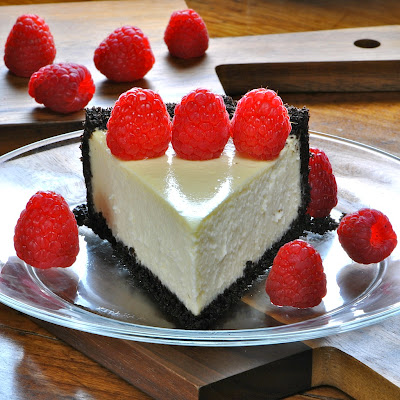 JULES FOOD...: Martha's Easy Light Cheesecake