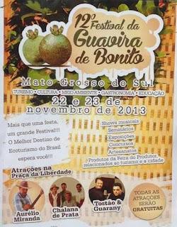 Festival da Guavira de Bonito 2013