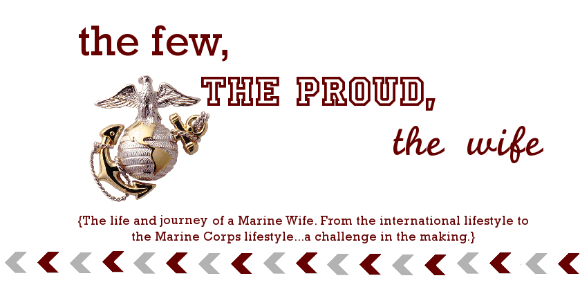 The Few, The Proud, The Wife