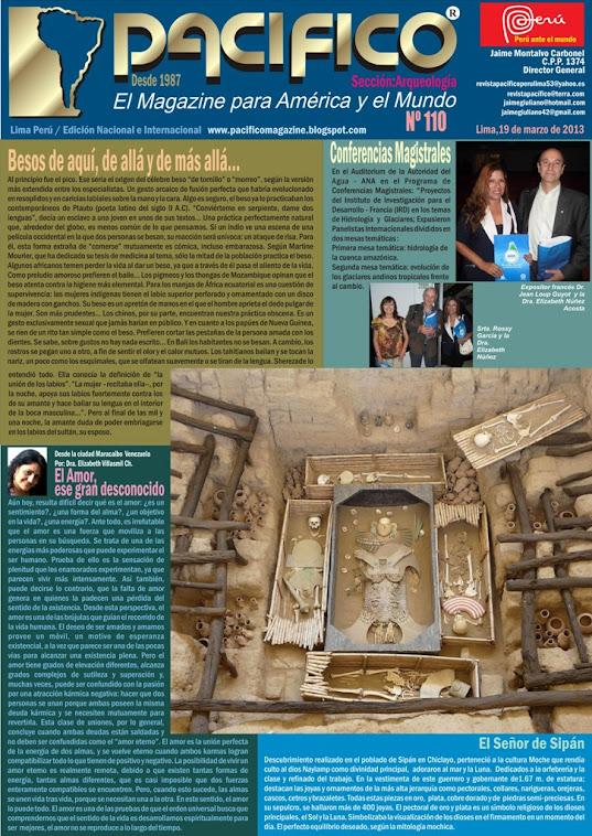 Revista Pacífico Nº 110 Arqueología
