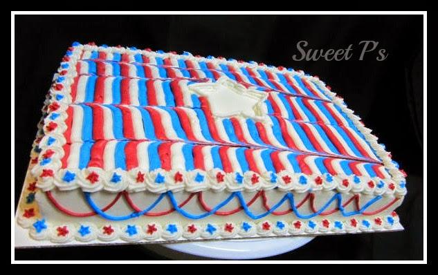 July 4 cake
