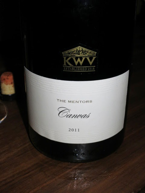 Wine Review of 2011 KWV The Mentors Canvas from WO Coastal Region, South Africa