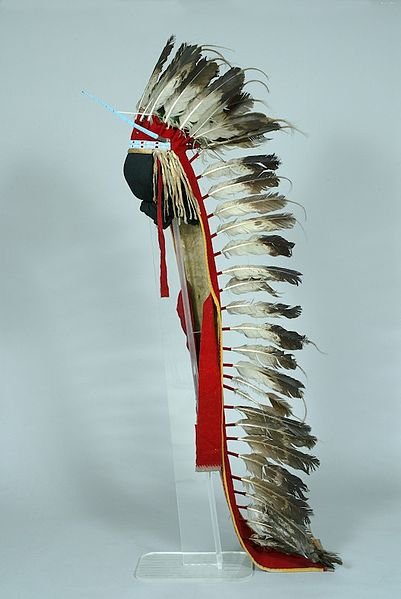 Indians Would Wear These Feather Bonnets When They Would Go Out To War