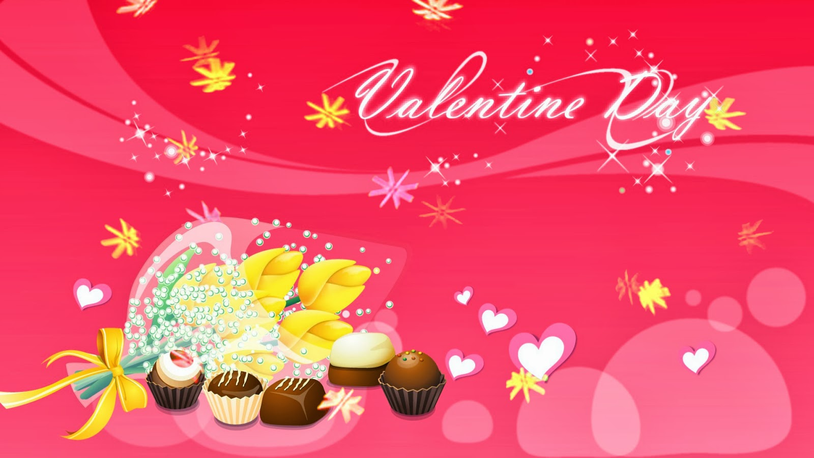 Sweet Candy Love for Valentine