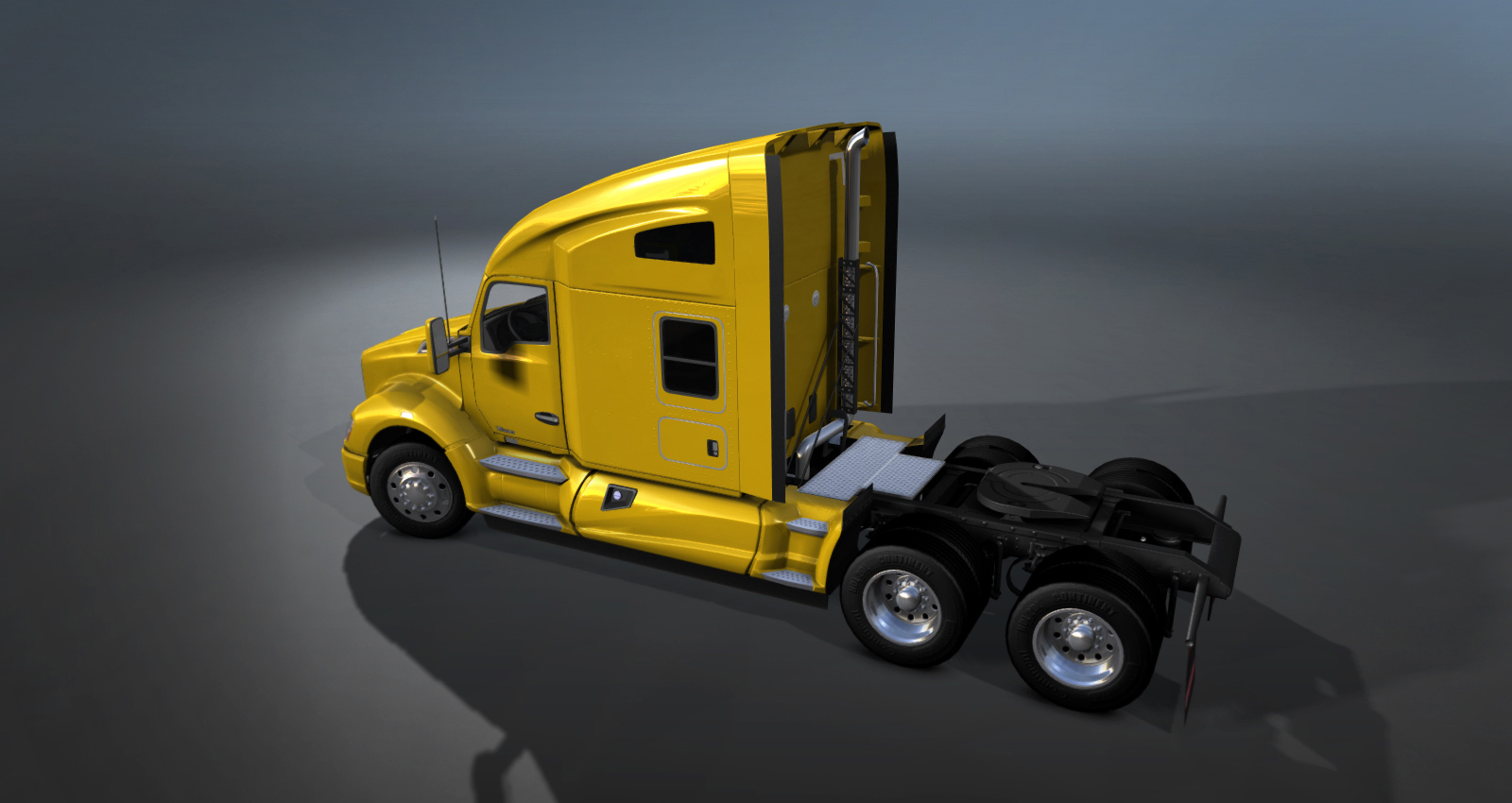 Scs Softwares Blog Review Renders Semi Truck Kenworth Lights Wiring Diagram Saturday April 19 2014