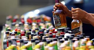 truk bermuatan ribuan botol miras terjaring Operasi Zebra Lodaya