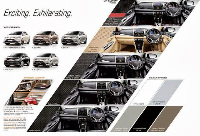 The All New Toyota Vios in Malaysia, toyota vios, cars, Vios 1.5 TRD Sportivo Auto, Vios 1.5G Auto, Vios 1.5E Auto, Vios 1.5J Auto and Vios 1.5J Manual