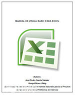 Manual de Visual Basic para Excel   José García