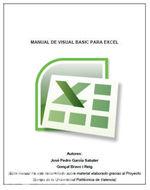Manual de Visual Basic para Excel   José García