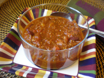 Crockpot Wednesday: Tempeh Chili