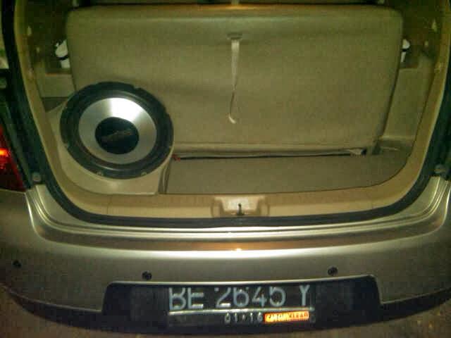 KERANGKA FIBER BOX untuk SUBWOOFER AUDIO MOBIL