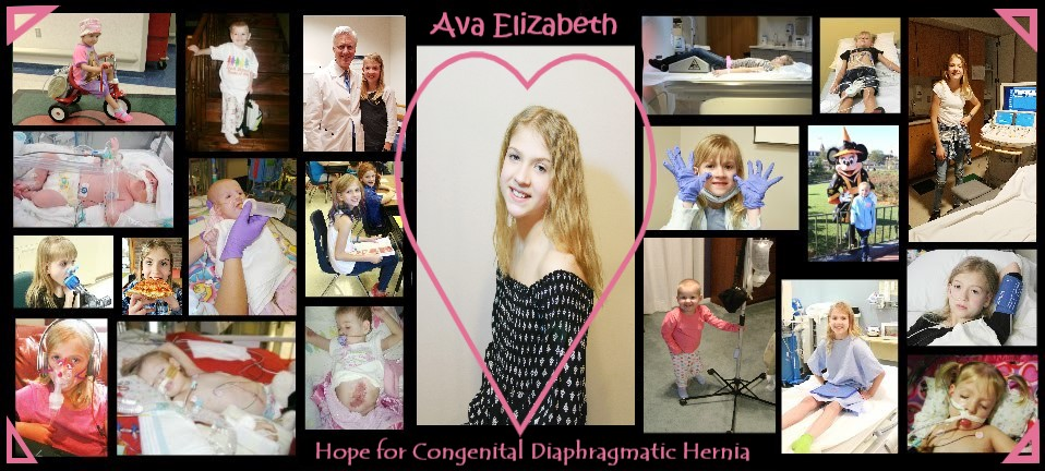 Ava~ Hope for Congenital Diaphragmatic Hernia.