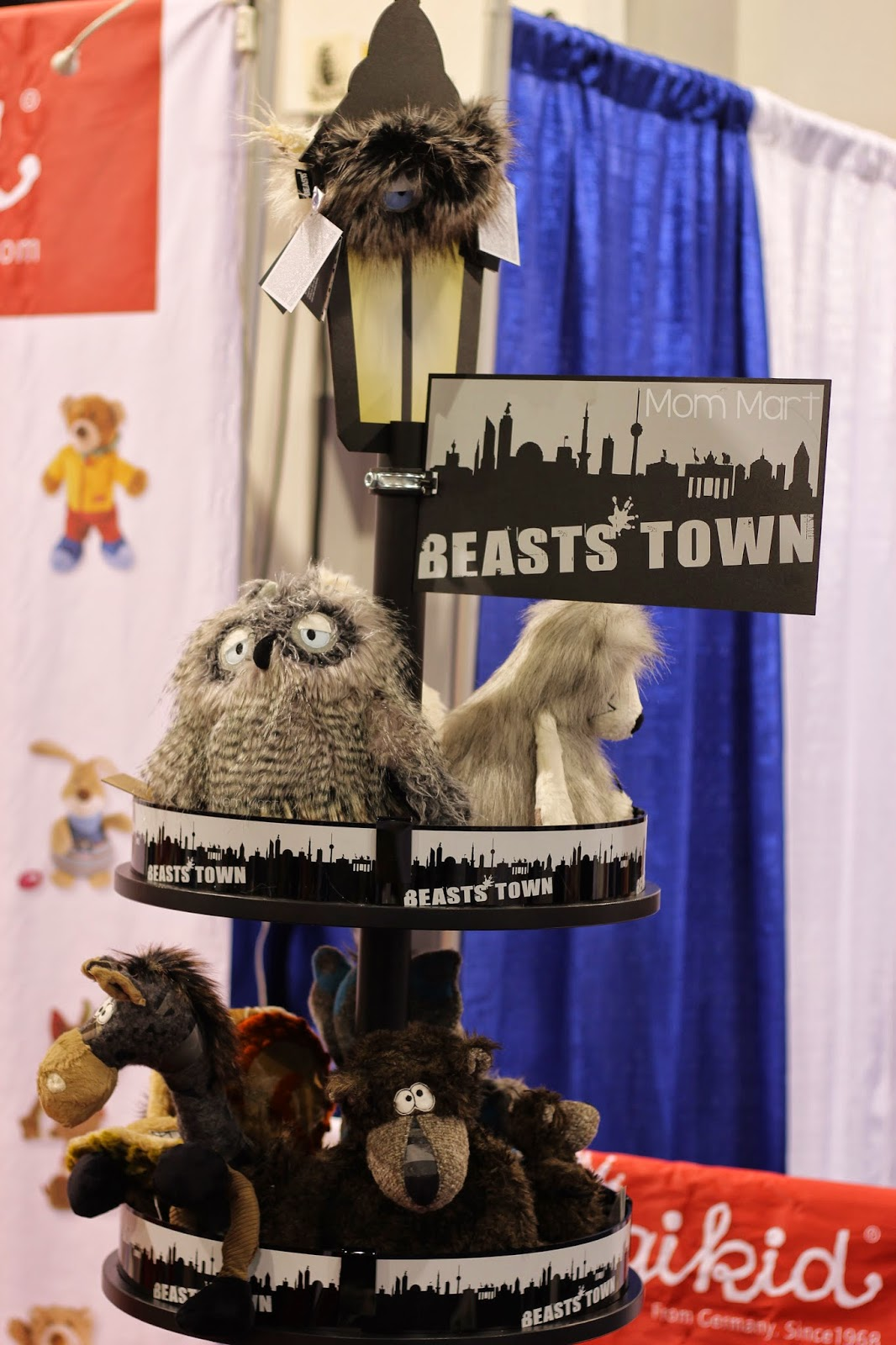 ABC Kids Expo 2014 The Toys of #ABCKids14 Sigikid BEASTS