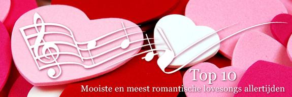 Top 10 mooiste en meest romantische lovesongs allertijden