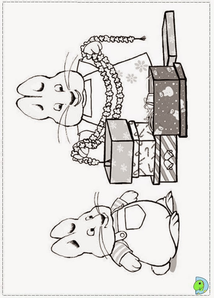 Max And Ruby Coloring Pages To Print