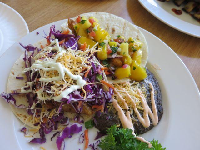 World famous fish tacos
