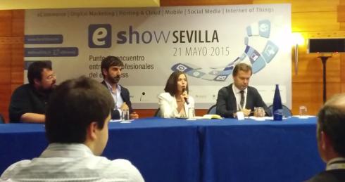 Mesa eShow Sevilla consejos para vender online