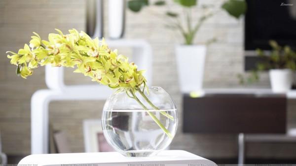 Cắm hoa trang trí phòng khách 18