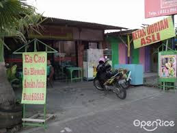 warung ketan durian