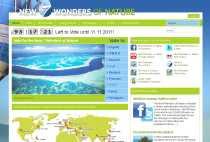 Nuevas 7 Maravillas del Mundo New 7 Wonders Of Nature 7 maravillas de la naturaleza votar online votación online