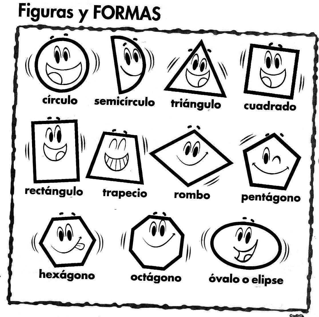 Figuras Geometricas Para Ninos Actividades