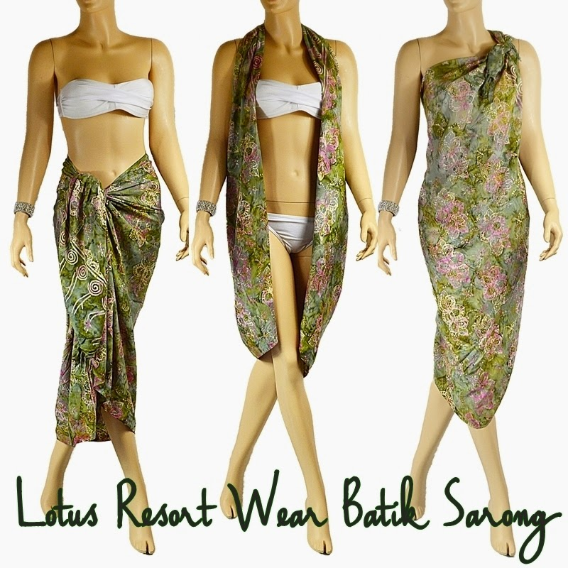 Win two Lotus Resort Wear Sarongs in the The Hippity Hoppity Easter Hop