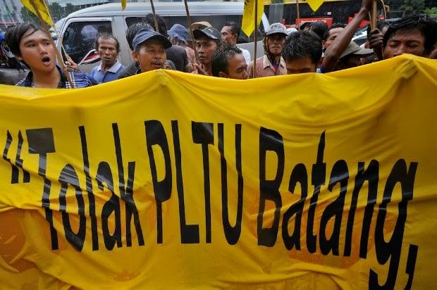 Warga Batang Temui DPR Terkait Pembangunan PLTU Batubara Batang