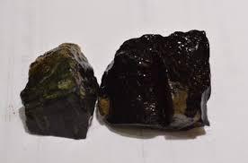 Bahan batu Akik Black Opal