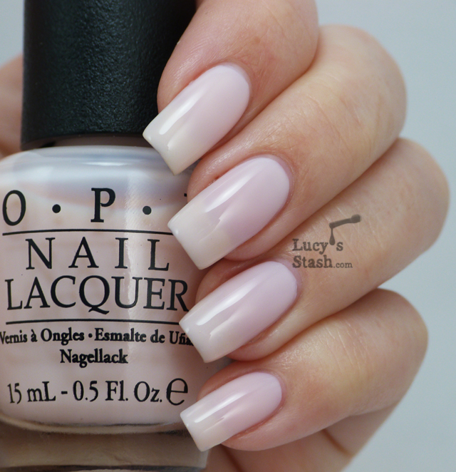 Lucy's Stash - OPI Don't Burst My Bubble