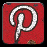 Grunge Pinterest Logo